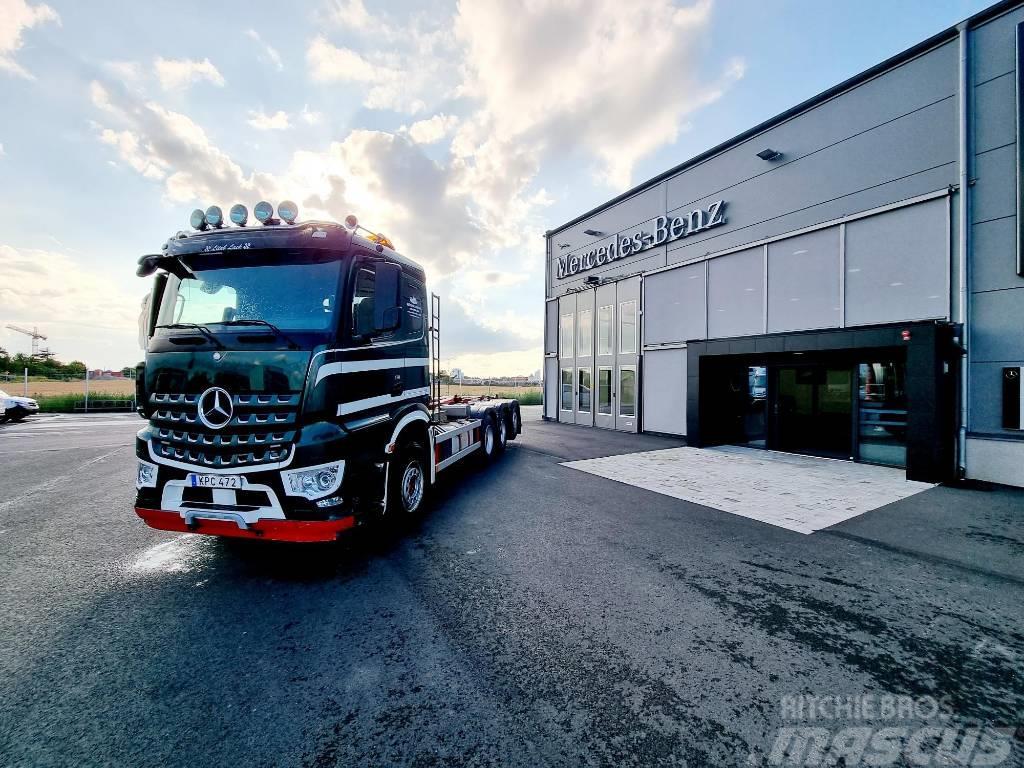 Mercedes-Benz Arocs 3251 L 8x4 Tridem Lastväxlare