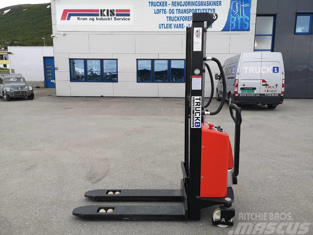 Noblelift 1,0 tonns semi-elektrisk stabler LH 1,6 m