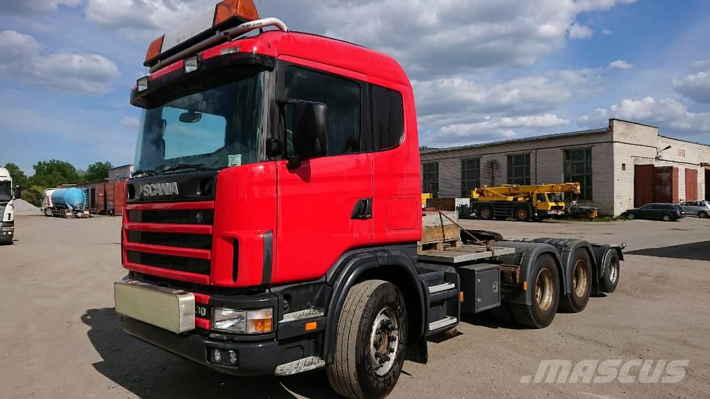 Scania R144GA6X4+2NA530  only 409000km!!