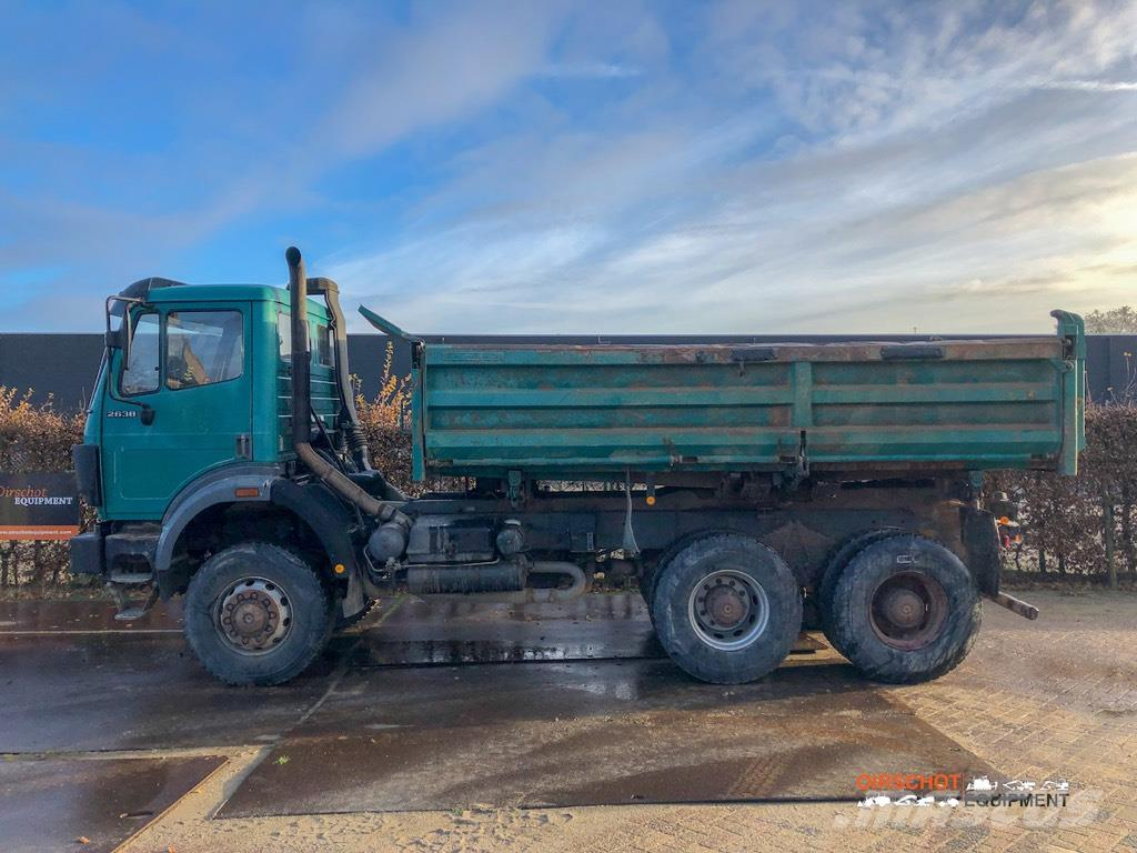 Mercedes-Benz 2638, 1993, Tipper trucks ...