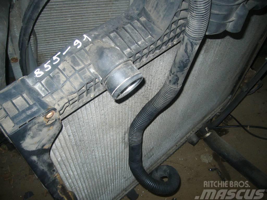 MAN TGA radiator and cooler