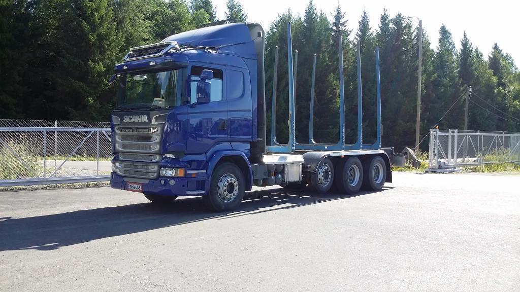 Scania R 580 8x4
