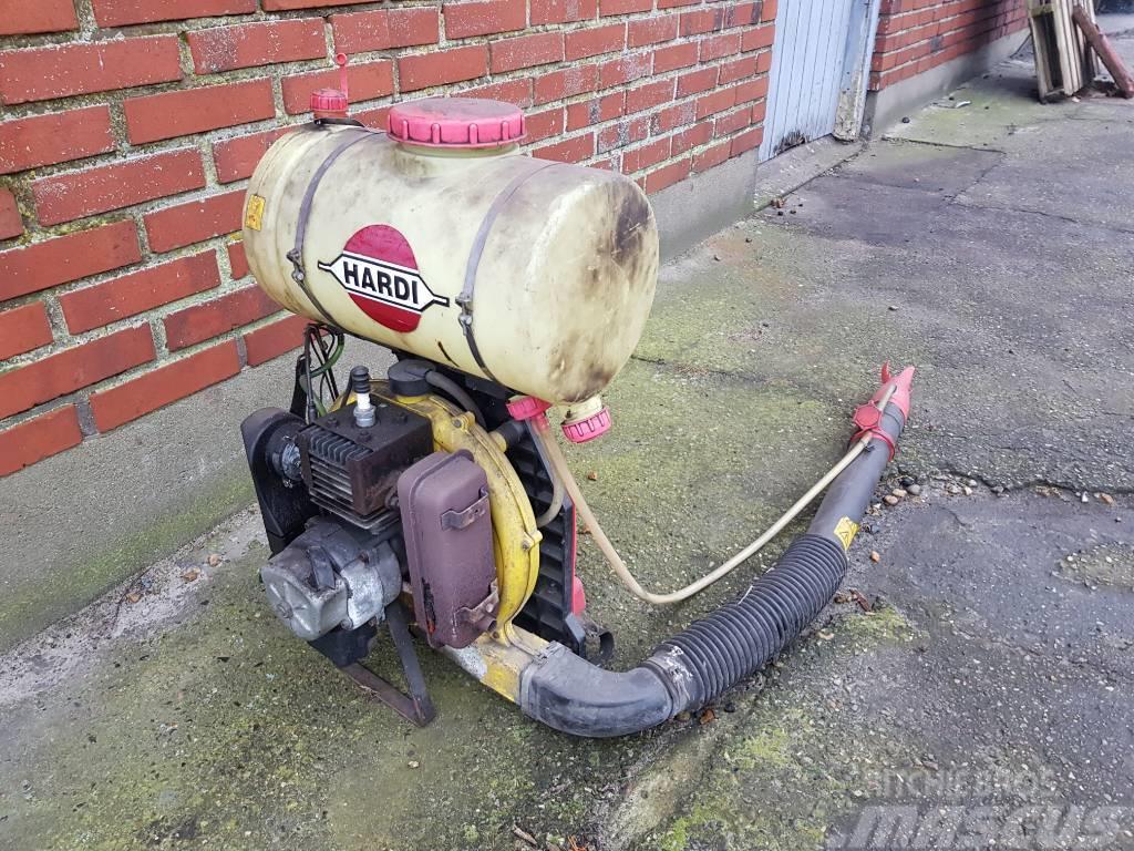Hardi MRY2 rygsprøjte med motor