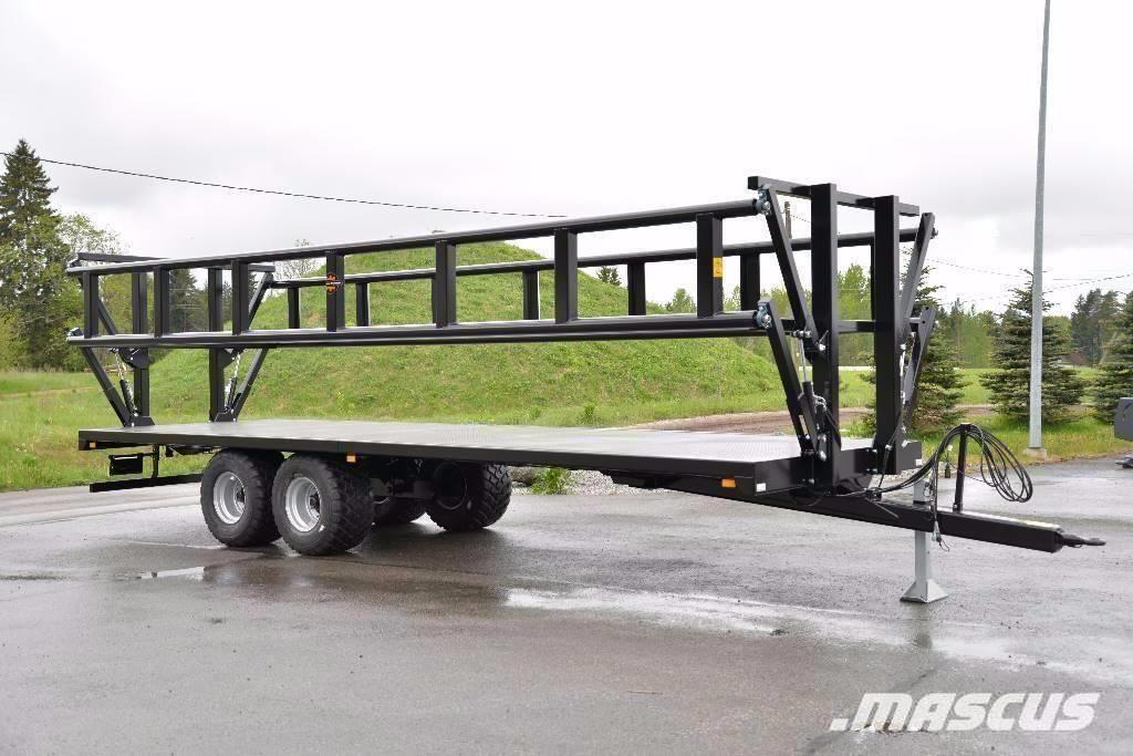 Palmse Balvagn med Hydrauliska Sidor NY