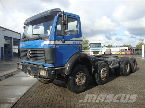 Used mercedes benz 3535 cab chassis year 1991 price for Ao service on mercedes benz
