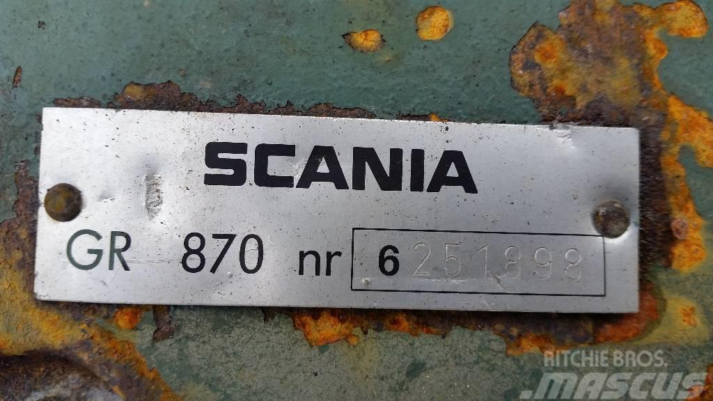 Scania GR870, Växellådor