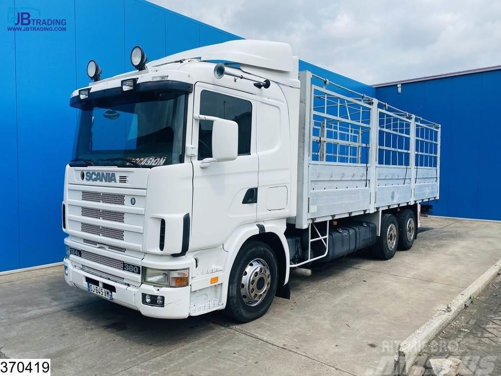 Scania 124 420 6x2, Manual, EURO 2
