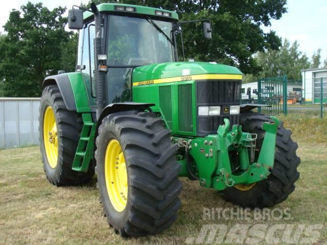 john deere 7810 power quad plus tractors price 27 987. Black Bedroom Furniture Sets. Home Design Ideas