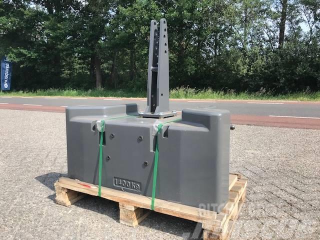 Fendt 1400 kg Fendt frontgewicht NIEUW