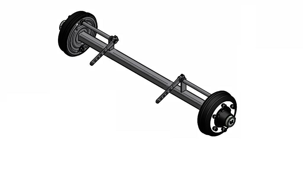[Other] TIPPER TELESCOPIC CYLINDER 3, 4, 5, 6-stages Axle