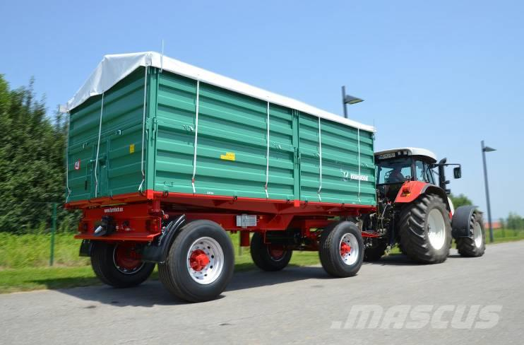 Farmtech ZDK-1800 pótkocsi (20t) készletről eladó