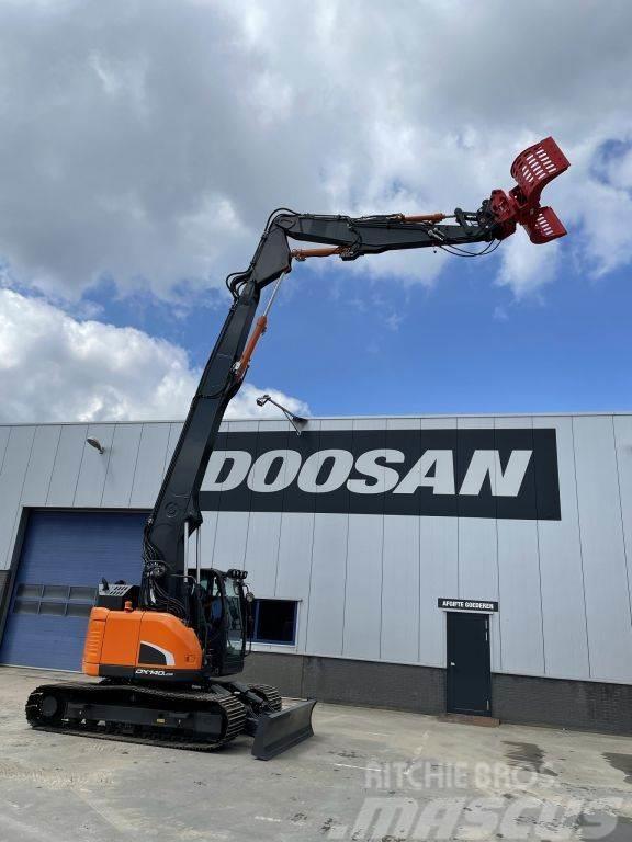 Doosan DX140LCR-5 Demolition