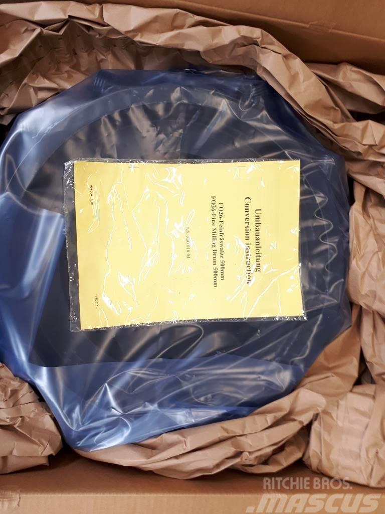 WIRTGEN FO26-Feinfräswalze 500mm Wirtgen W500 T/N 89502
