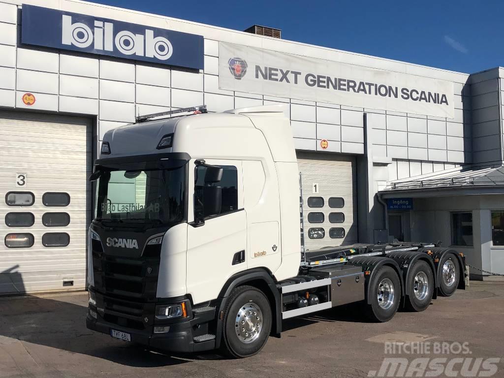 Scania R 580 8X4*4 Joab Lastväxlare