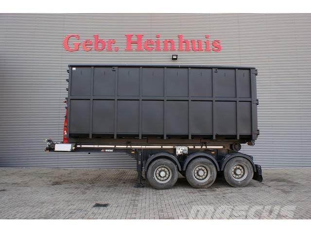 Wiese SA 3-36 AK 25 VDL 25 Tons Hooklift with Container!