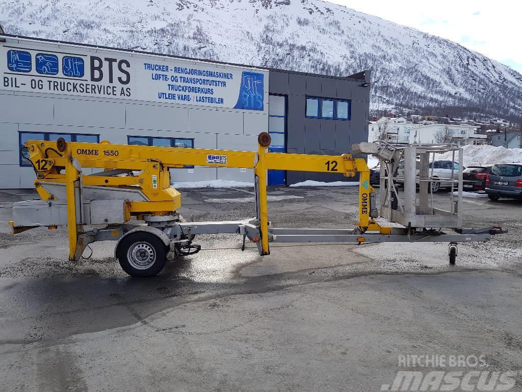 Omme 1550 EBZX tilhengerlift (SOLGT)