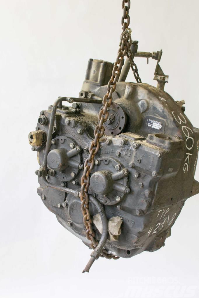 Hanomag 421,8 Skrzynia Gearbox Getriebe