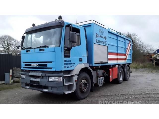 Iveco 240E38 6x2 KSA SaugDruck Wasserrückgewinner