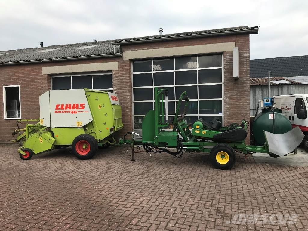 CLAAS RC 46 + MCHALE 991 BC