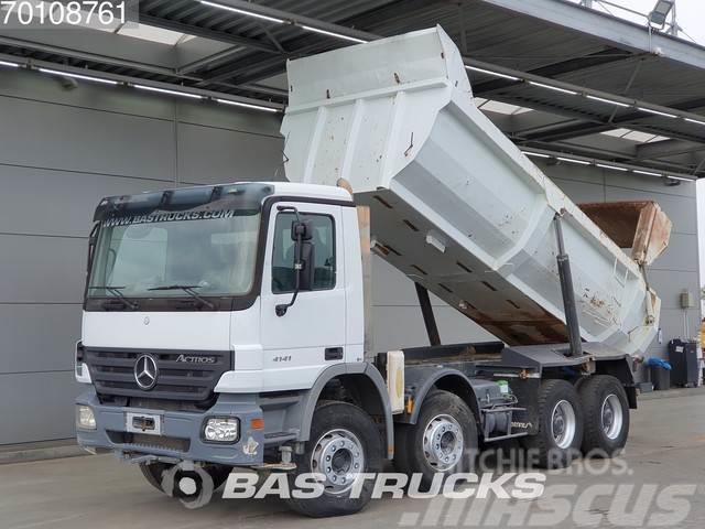Mercedes-Benz Actros 4141 K 8X4 13m3 Big-Axle SteelSuspension Eu