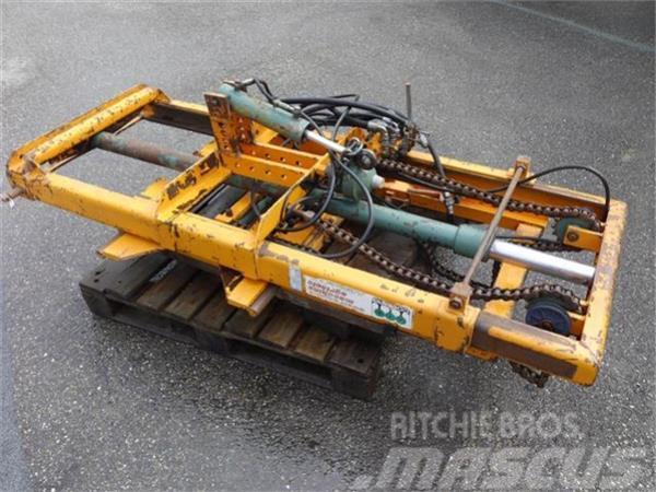 Cosmag hefmast  voor achter traktor Duijndam Machines
