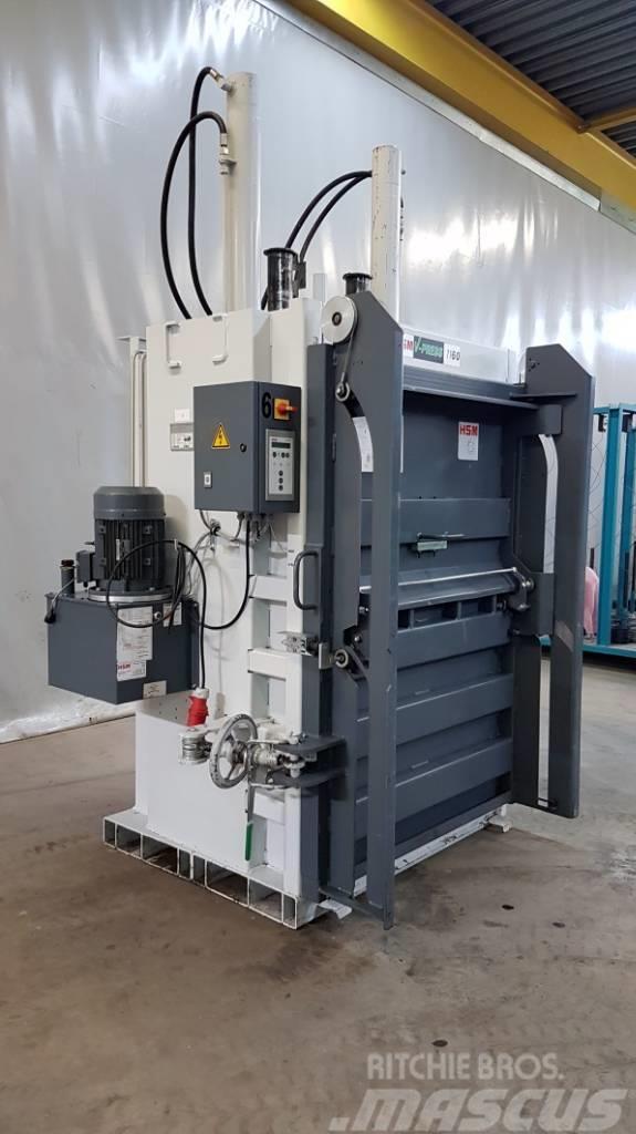 [Other] Vertikal-Ballenpresse HSM V-Press 1160 PLUS