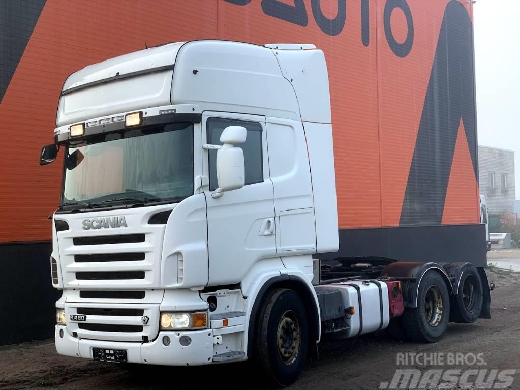 Scania R480 Retarder+Hydraulics+ADR