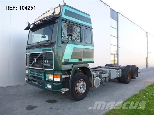 Volvo F16.470 6X2 CHASSIS MANUAL FULL STEEL