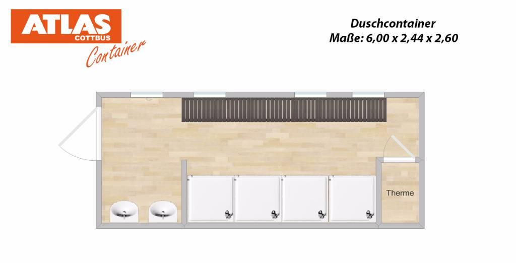 Atlas Container Sanitärcontainer Duschcontainer Containe