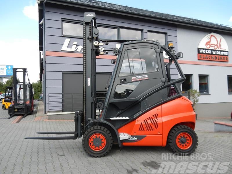 Linde H40T-02 Side shift