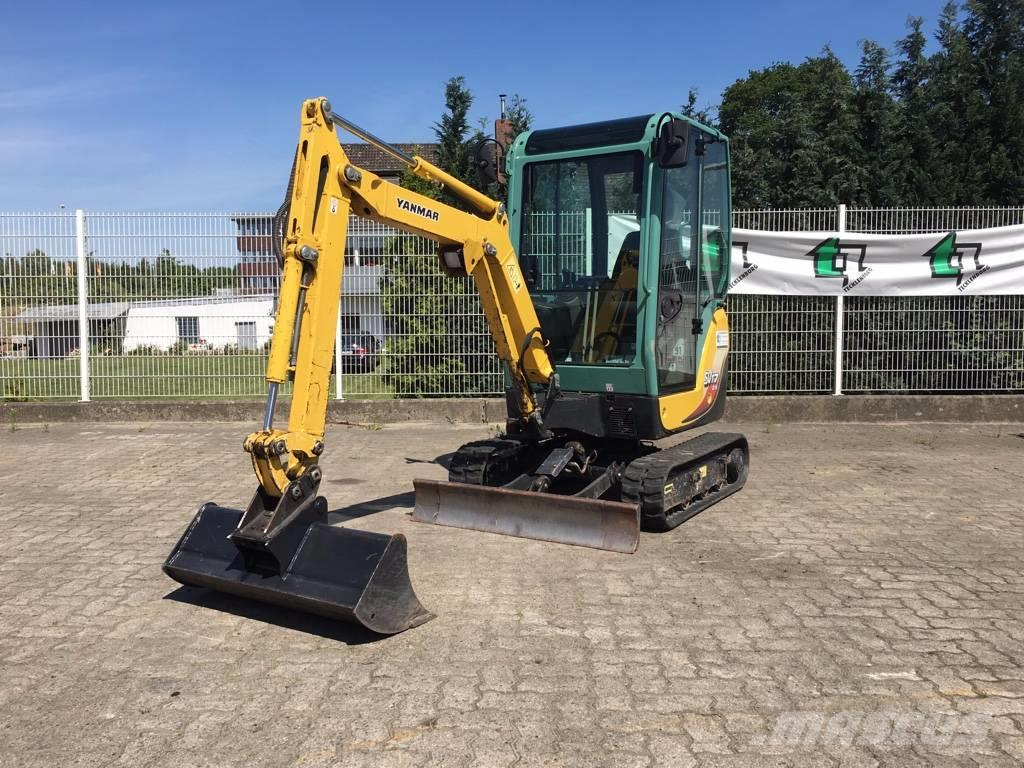 used yanmar sv 17 ex mini excavators