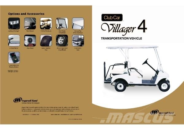 Club Car Villager 4 Electric