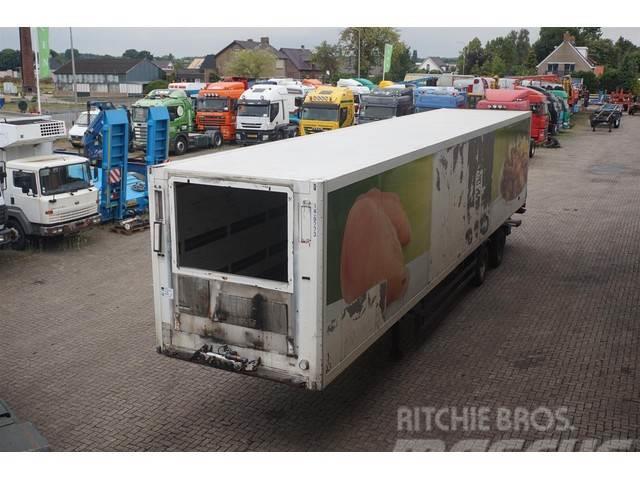 Schmitz Cargobull Gesloten bak 2-assig/stuuras