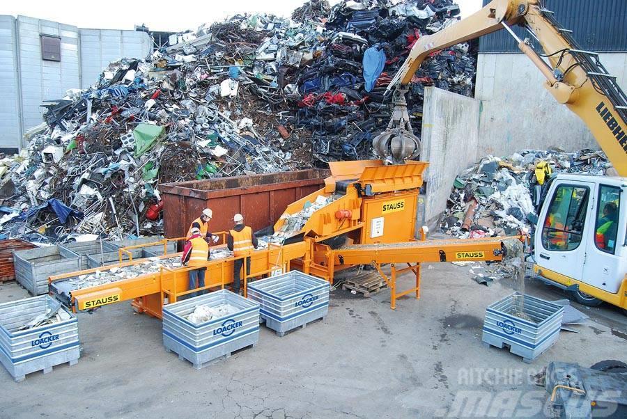 Stauss Container-Sortieranlage