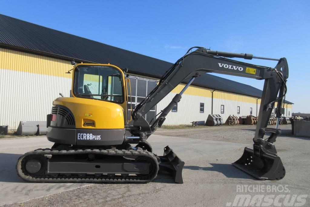 Volvo ECR88 Plus grävmaskin