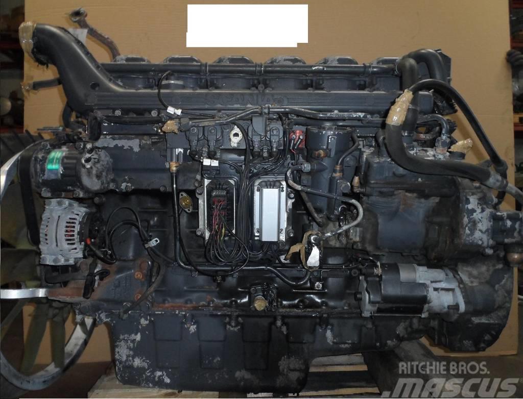 Scania R420 DT1212 engine