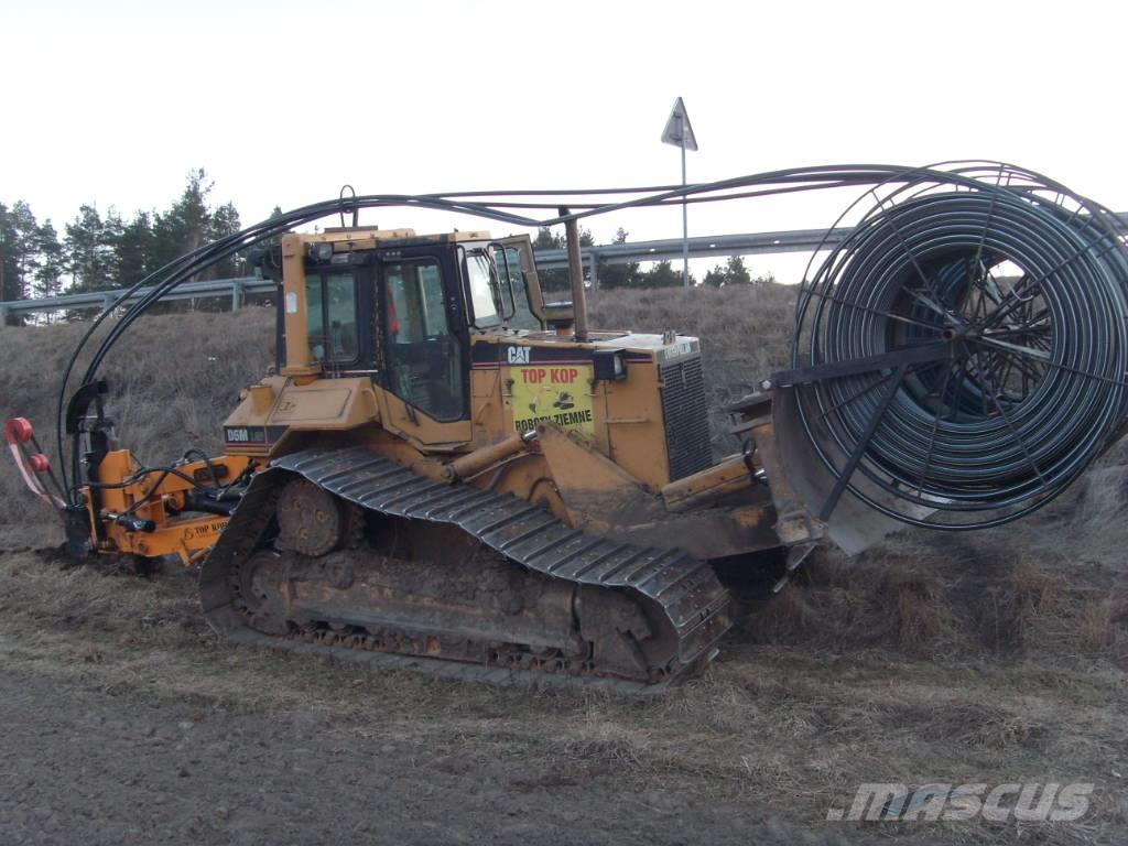 Caterpillar Goliat Pługoukładacz Trencher Ditch Witch Cable Pl