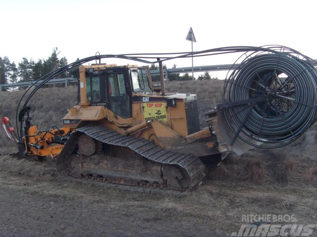 Caterpillar Pługoukładacz Kabelpflug Ditch Witch Cable Plow