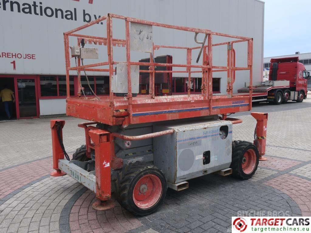 SkyJack SJ6826RT Diesel 4x4 Scissor Work Lift 992cm