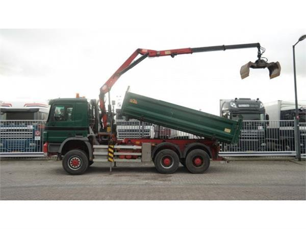 Mercedes-Benz ACTROS 3341 6X6 EURO5 FULL STEEL 2 SIDE TIPPER WIT