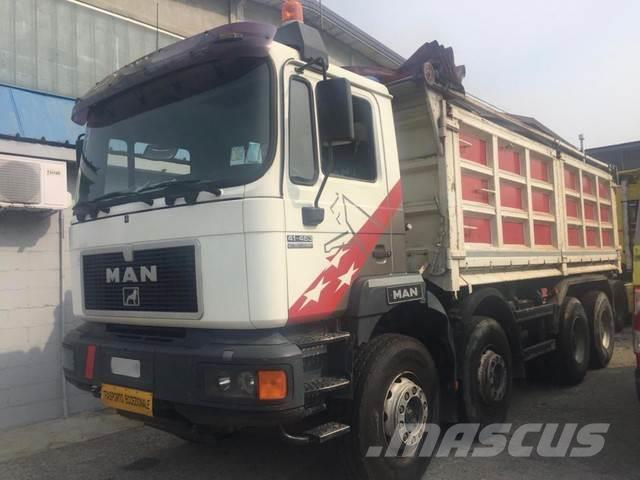 MAN 41.463 TIPPER 8x4