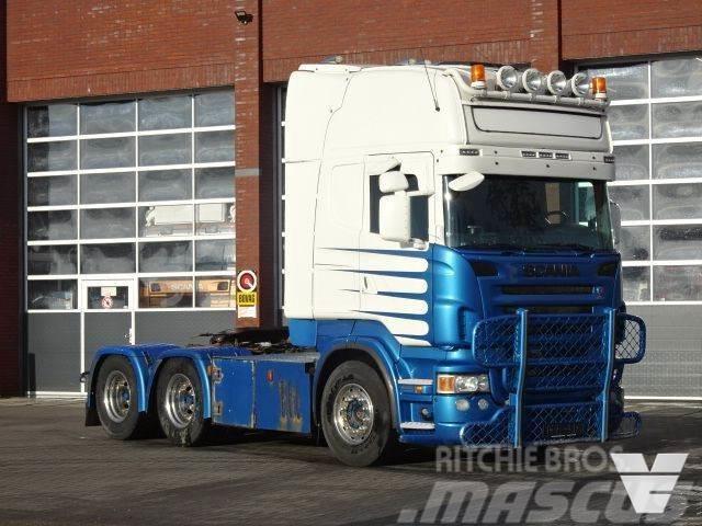 Scania R620 Topline 6x4 - PTO/Hydraulic - Manual - Retard