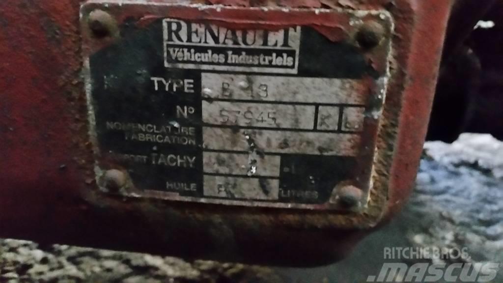 Renault B13, Växellådor
