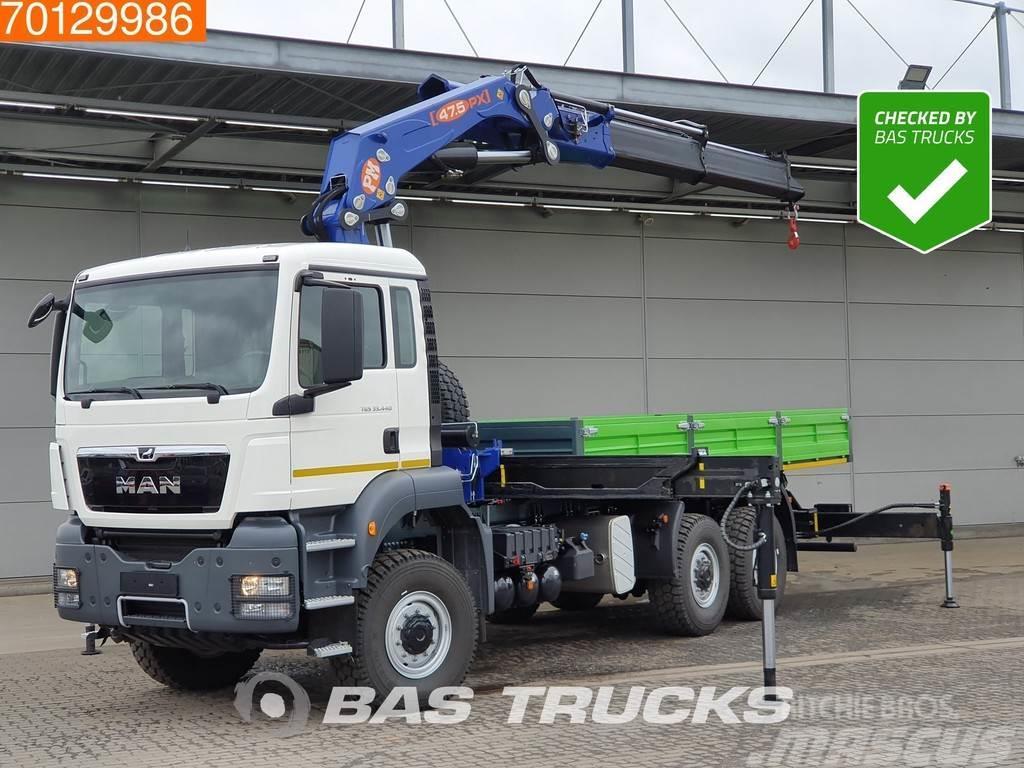 MAN TGS 33.440 6X6 NEW 6x6 Kran Crane PM 47.5PX
