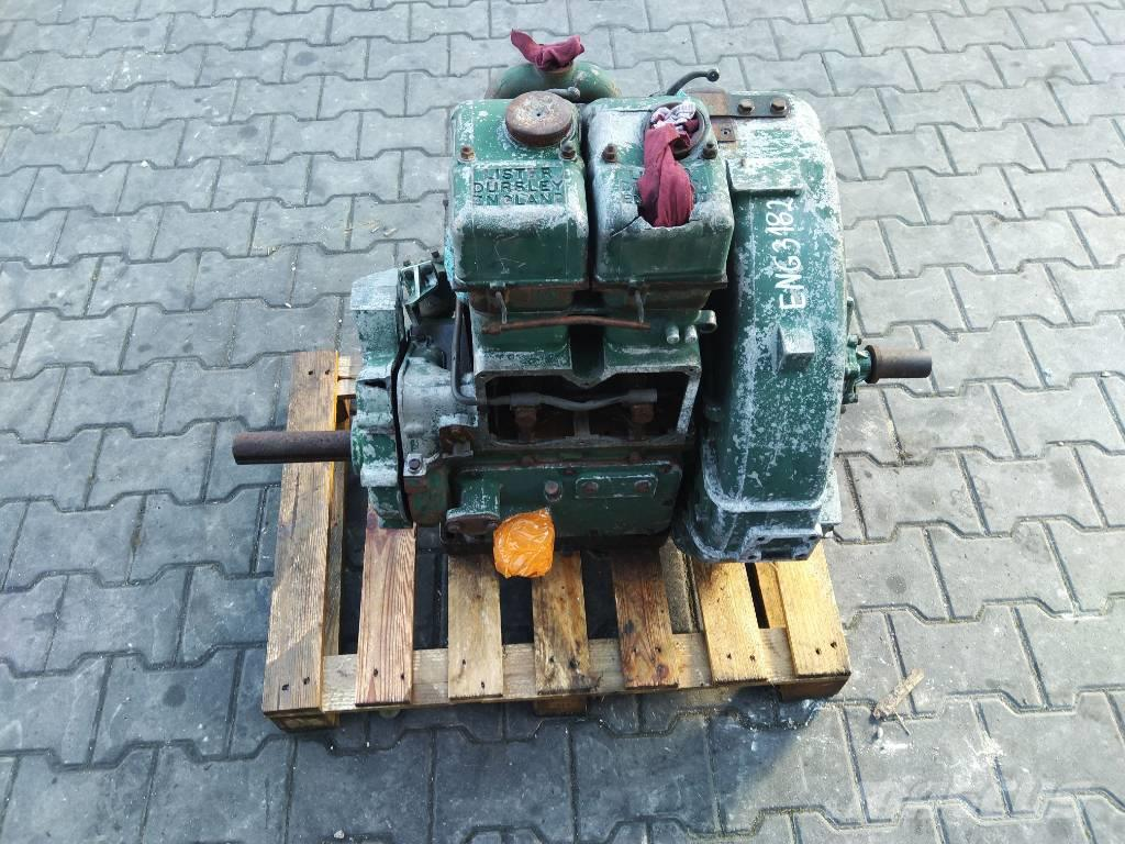 Lister Petter 2 Cylindrowy Silnik Engine Motor