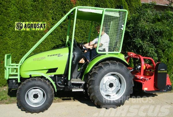 Agrosat Tuber 50 LE traktor kabin nélkül .Lombardi