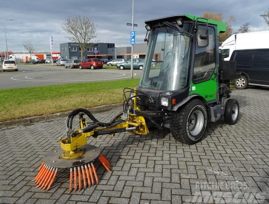 LM Trac 286 met onkruidborstel-Nieuw incl. opties 286