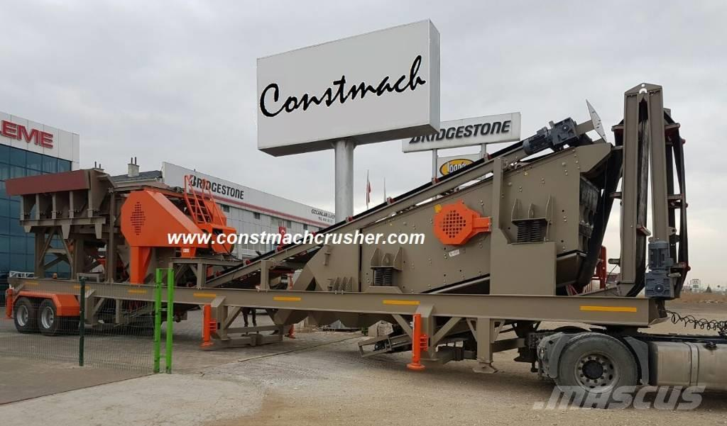 Constmach Mobile Jaw + Cone Crusher – READY TO DELIVERY