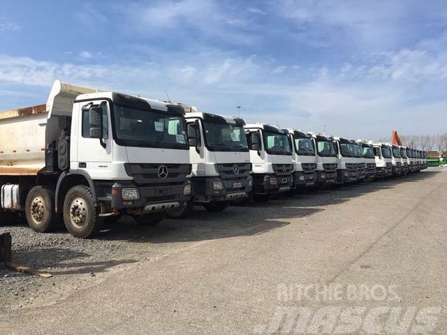 Mercedes-Benz Actros 4844K 8x4 Dump Truck