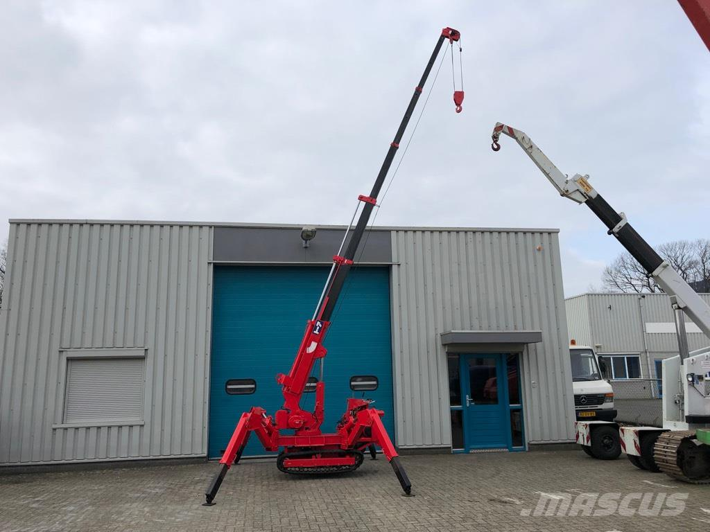 Tadano Mini hijskraan, 2,6 ton, 8,5 meter